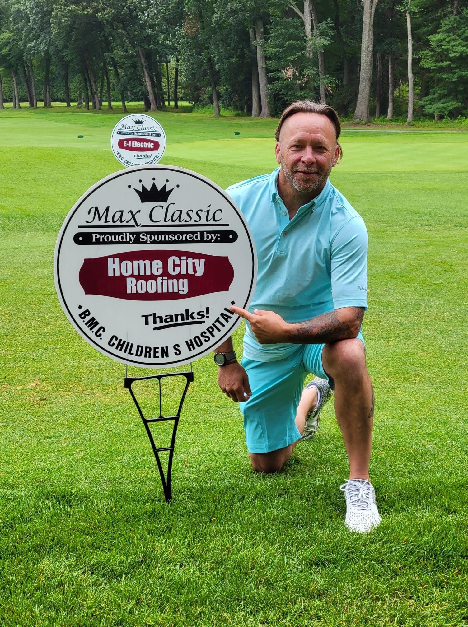 max classic golf sponsor